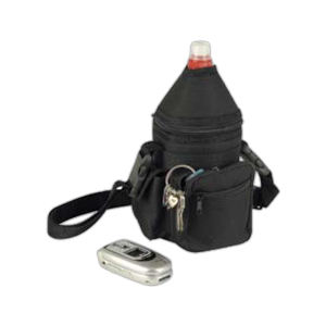 Polyester bottle holder bag