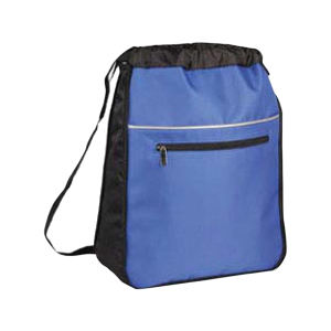 Polyester expandable backpack with