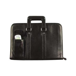 Leatherette deluxe organizer zippered