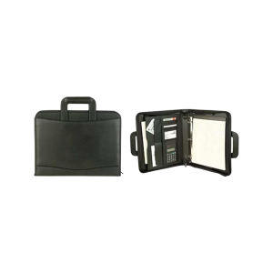 Promotional Zippered Portfolios-Padfolio-B359