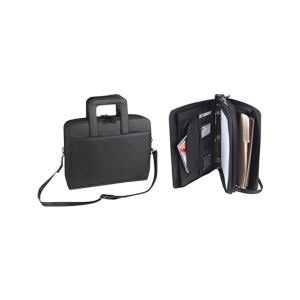 Promotional Zippered Portfolios-Padfolio-B360