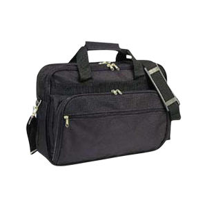 Polyester deluxe briefcase with