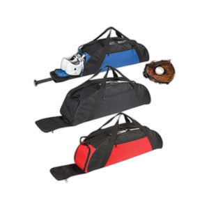 Baseball equipment duffel with