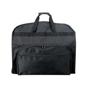 Garment bag with zippered