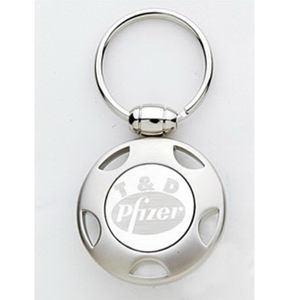 Promotional Metal Keychains-KEY-TAG-K45