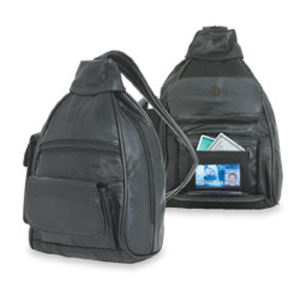Promotional Leather Portfolios-185B-BACKPACK