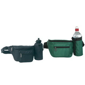 Fanny pack with bottle