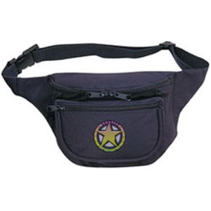 Polyester fanny pack with
