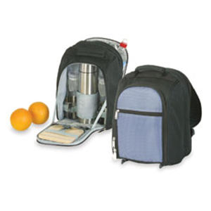 Polyester backpack coffee set