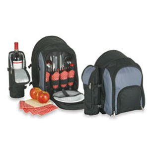 Deluxe picnic backpack with