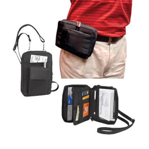 Performance travel pouch with