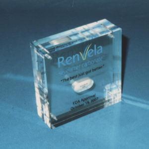 Custom lucite acrylic plaque