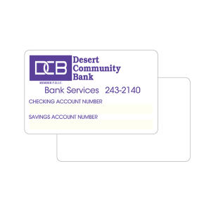 Promotional Information/ID Cards-CC2