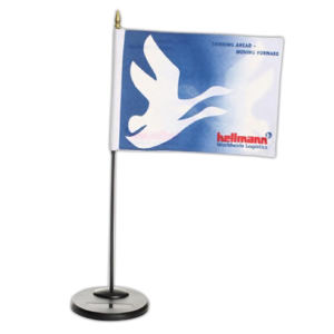 Firm desk flag, 6