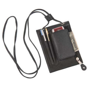 ID badge holder with