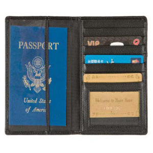 Leatherette passport / ID