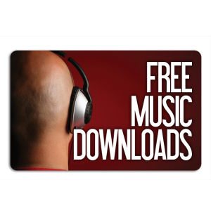 Promotional Music Download Cards-MUSIC-L-01
