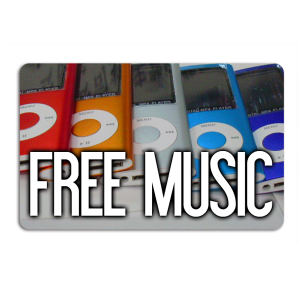 Promotional Music Download Cards-MUSIC-W-01