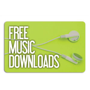 Promotional Music Download Cards-MUSIC-K-01