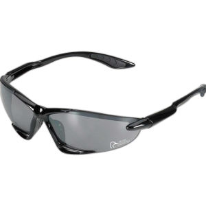 Streamlined wrap sunglasses with