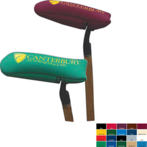 Neoprene golf putter cover.