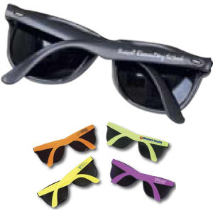 Sunglasses in assorted neon
