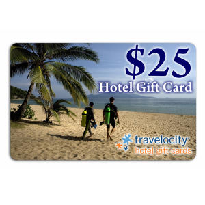 Imprinted Hotel Gift Card