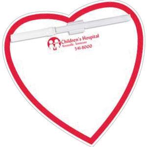 Memo Board Heart w/