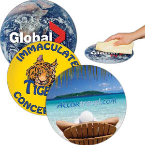 Circle Removable Adhesive Mouse