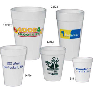 Promotional Foam Cups-12J12