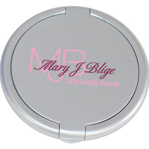 Round plastic single mirror