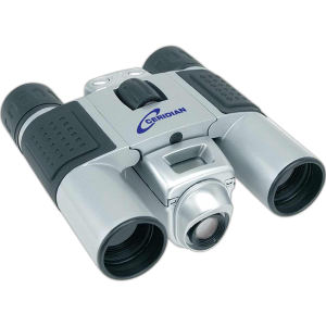 Digital camera binoculars with