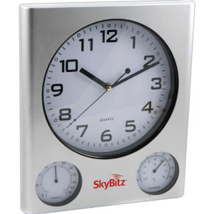 Promotional Barometers/Hygrometers-070-CLOCK