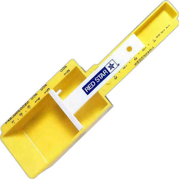 Measurer for teaspoons, tablespoons