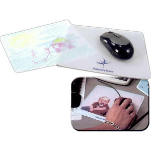 Clear craft mouse pad