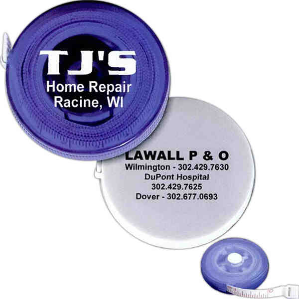 Round tape measure with