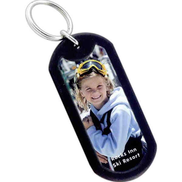 Dog tag shaped key