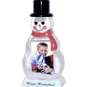 Snowman snow globe, insert