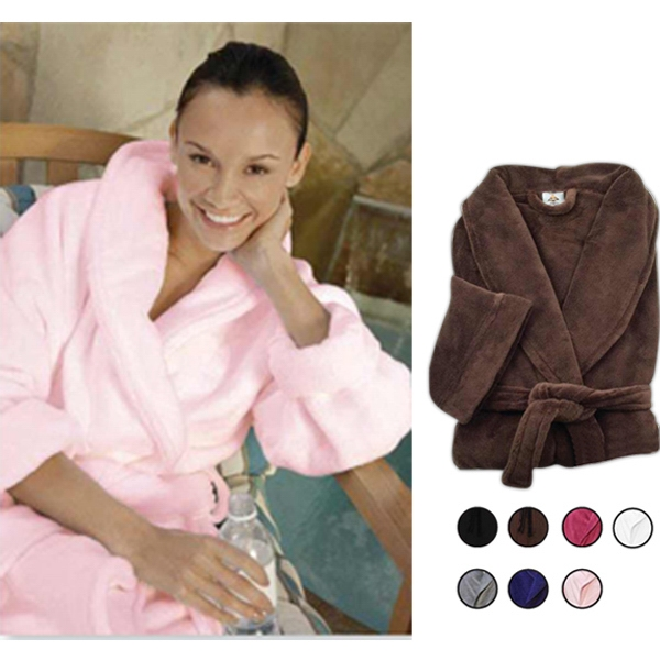 Soft plush robe. 2-