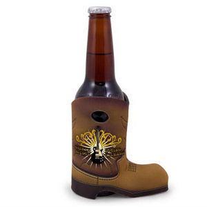 Promotional Beverage Insulators-135-4CP-Cowboy