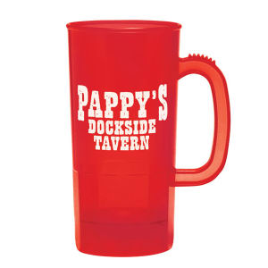 Promotional Plastic Cups-364-01-RED