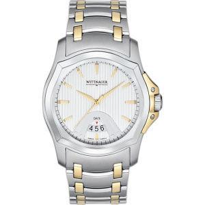Wittnauer Montserrat Collection (TM) - Men s watch, Swiss quartz movement, screw back, silver texture dial Blank 12B104