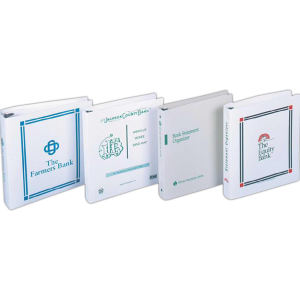 Promotional Loose Leaf Binders-P10-35-BANK