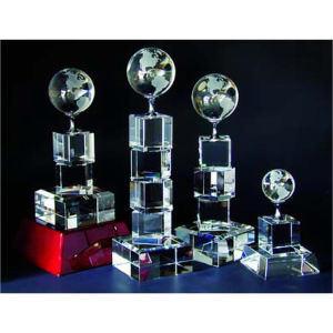 Globe tower optical crystal