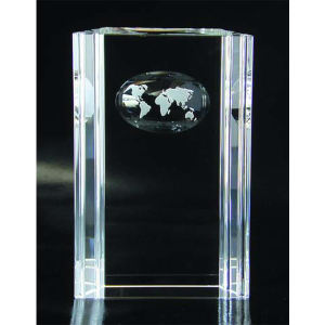 Groove atlas optical crystal