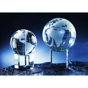 Global with meridian and
