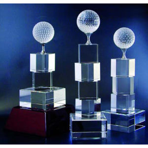 Golf tower optical crystal