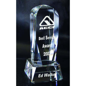 Fantasy optical crystal award