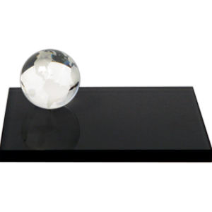 Globe set optical crystal
