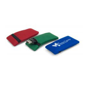 Promotional Vinyl ID Pouch/Holders-USB1ECO